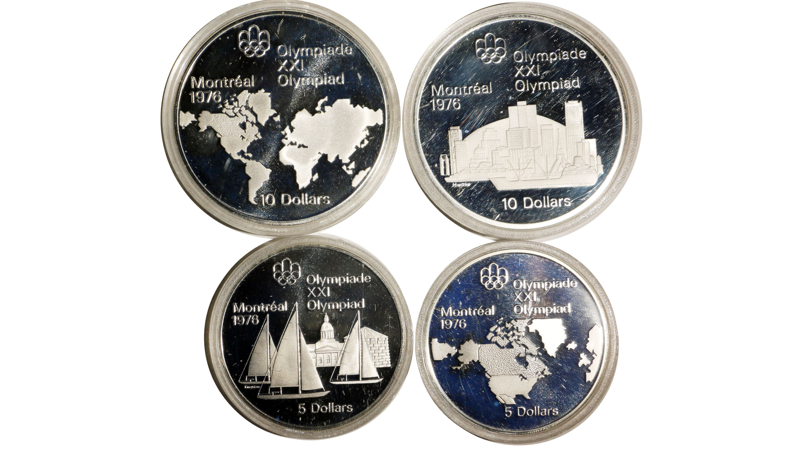1976 Montreal Olympics Canadian Coin Series 1 Geography Ebay