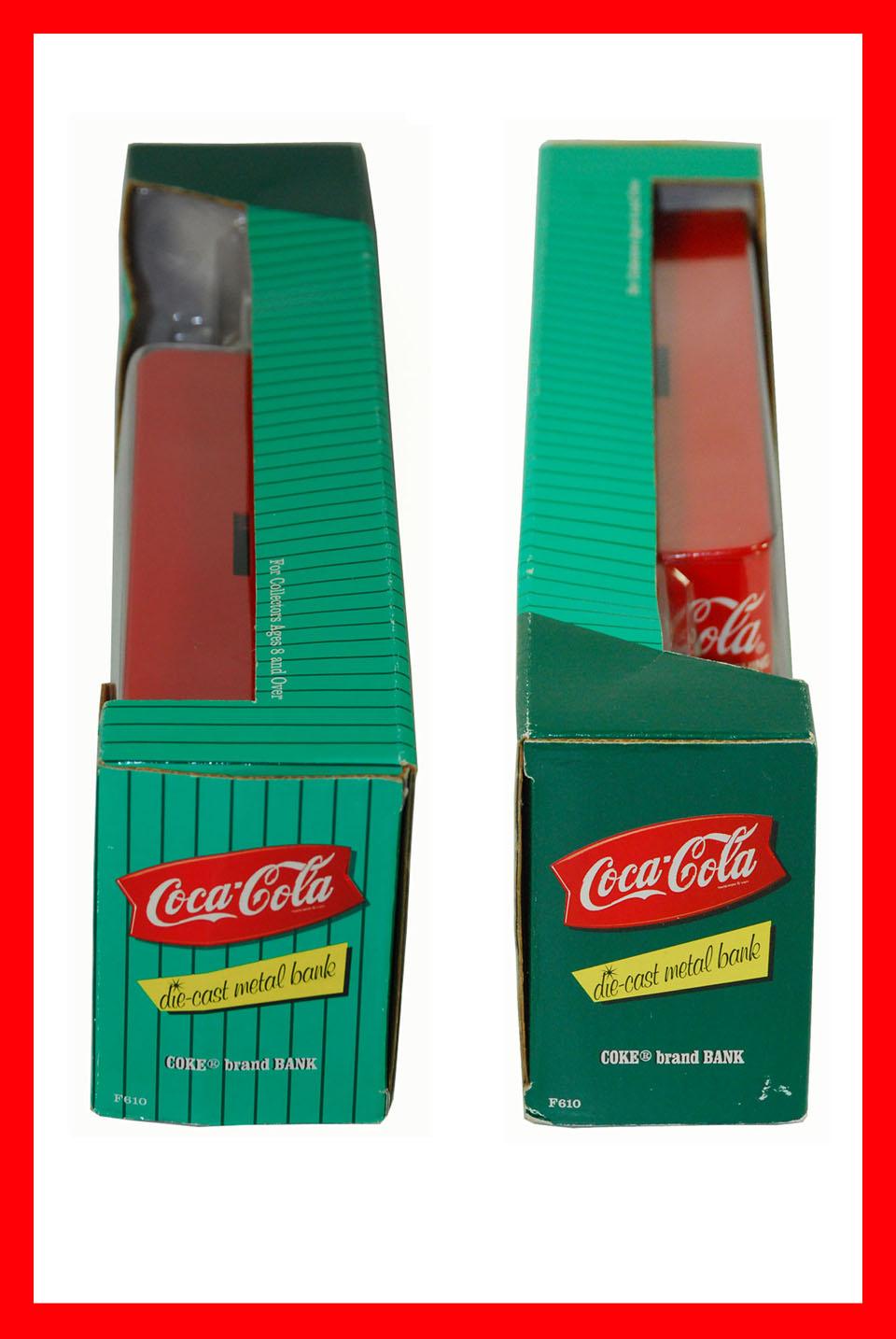 1996 Collectible Coca Cola Die Cast Metal Bank Ford Semi