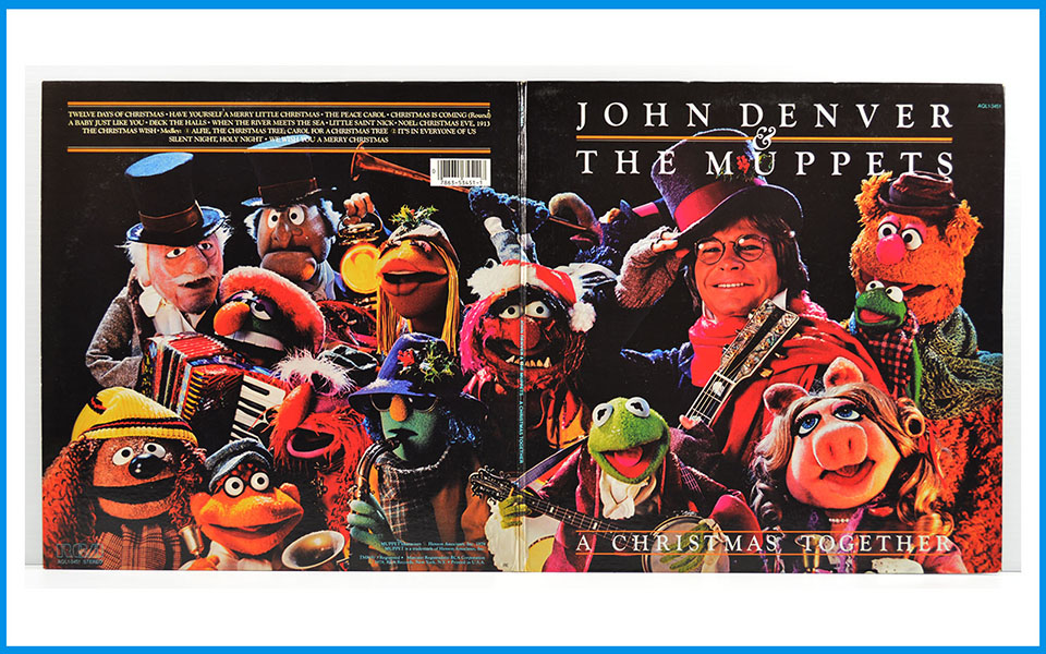 John Denver And The Muppets A Christmas Together Record RCA Victor ...