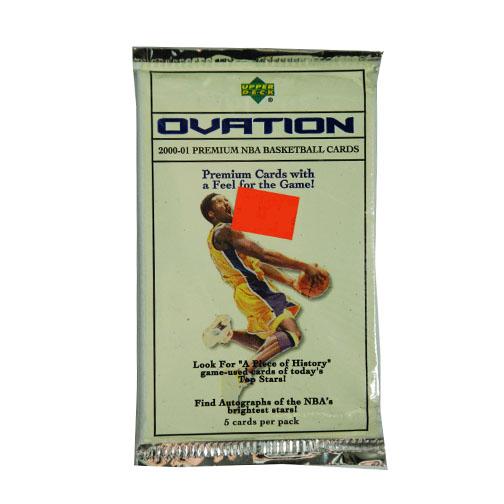 2000-01 Upper Deck Ovation Basketball Hobby Factory Sealed 10 Packs Lot=