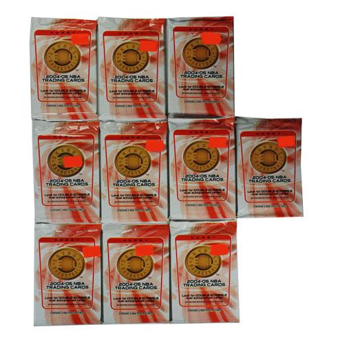 2004-05 Skybox E-XL Basketball Hobby Factory Sealed 10 Packs Lot=