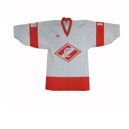 Russian Spartak Made By Luch Hockey Jersey Nikolai Borschevsky #16