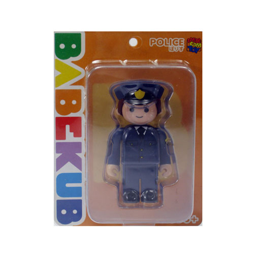 Medicom Toy Babekub Series 1 Kubrick Be@Rbrick Police