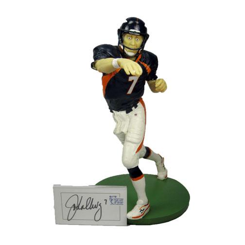 John Elway Art Of Sport Signed Figurine with COA