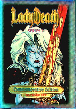Lady Death Series 1 Commemorative Edition Factory Sealed Set=
