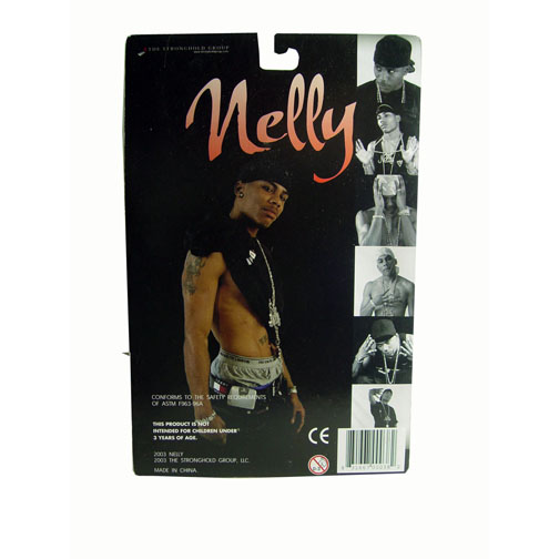 2003 Nelly Rap Artist Stronghold Group Action Figure