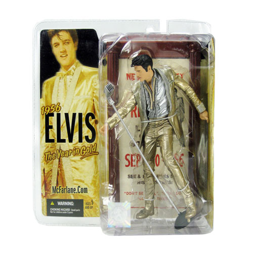 "McFarlane  Elvis Presley 6 ""Fourth Elvis The Kings Court Action Figure"