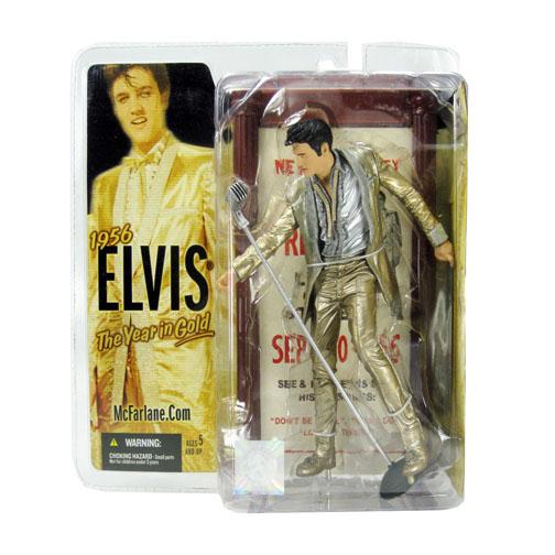 "McFarlane  Elvis Presley 6 ""Fourth Elvis The Kings Court Action Figure"