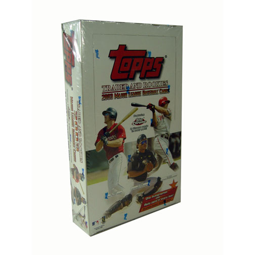 2003 Topps Traded and Rookies Baseball Factory Sealed Hobby Box=