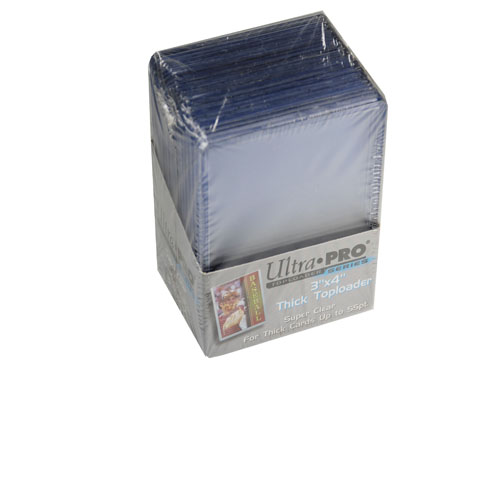 Ultra Pro TopLoader Series Super Thick 25 Top Loaders Pack