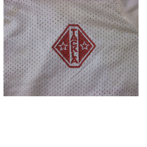 Vintage Russian Official CCCP Game Used Hockey Jersey #18 Made By Tackla